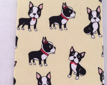 Boston Terrier Passport Cover, Protector, Case, Wallet, Holder