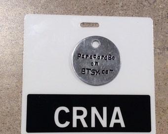 CRNA badge tag (horizontal)