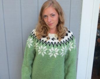 Fair isle sweater | Etsy