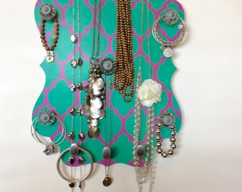 Jewelry Wall Organizer Necklace Bracelet Holder