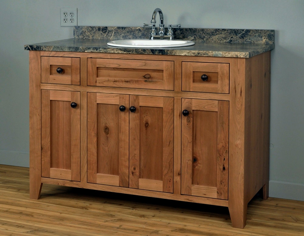 Shaker Style Bathroom Vanity Cabinet Made Of By Dressendesigns