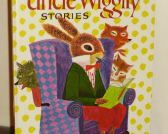 1973 Uncle Wiggily Stories by Howard Roger Garis Oversized HC Book
