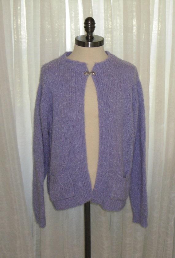 vintage purple lavender surrey import acrylic