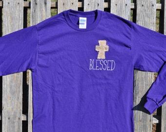 Burlap Blessings T-shirt