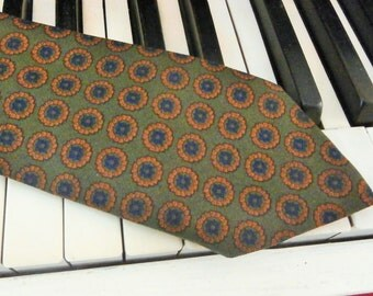 Vintage,  Necktie, Botany, 100% Virgin Wool, Benoits Department Store