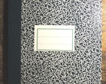 Vintage Graph Paper Notebook - Sturdy Binding - Never Used - Excellent Condition