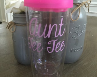 Custom Tumbler with name - Custom Tumbler - Personalized tumbler with name- Gifts for her - Travel Tumbler - bridesmaid -custom tumbler