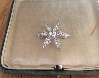 "1950's ""flower"" brooch."