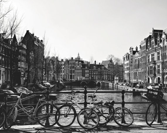 Typical Amsterdam Canal