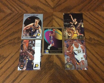 25 Indiana Pacers Basketball Cards