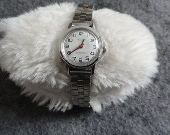 Vintage Timex Electric Ladies Watch with an Adjustable Band