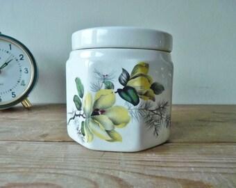 Vintage Oxford Marmalade Jar with Lid, Sandland Ware, Frank Cooper Ltd, England