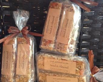 Seed & Almond Granola Bars