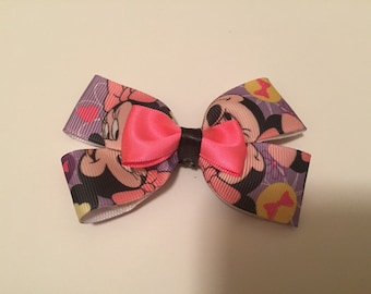 Mini mouse hair bow