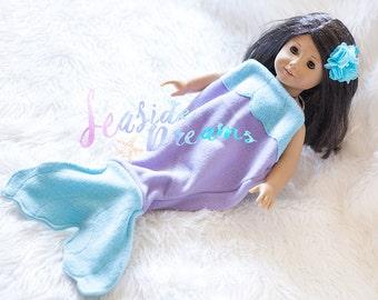 Seaside Dreams Blanket, Mermaid Tail Blanket, Kids Christmas gift,  Birthday present,  Baby blanket,  Princess Ariel, Fleece Mermaid Blanket