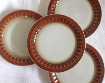 Mayer China Retro Luncheon Plates - Set of 4