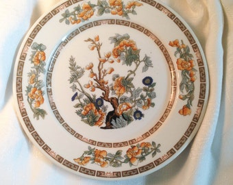 1920s O.P. Co. Indian Tree Plate