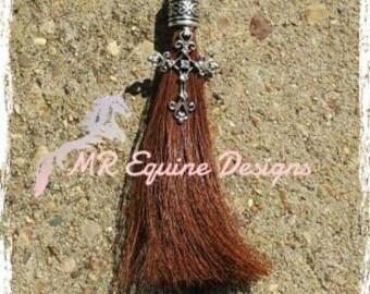 Horse Hair Tassel (Rearview Mirror Hanger)