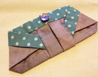 Origami Fabric Purse PDF Instructions