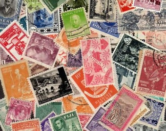 100 OLDER Diff. Worldwide Stamps, World Stamps, Stamp Collection,Stamps, Foreign Stamps,Postage Stamps,Lot of stamps,Collages