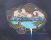 Painting Magical Waterfal...