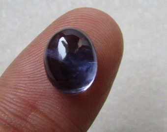 NATURAL IOLITE oval 11X8.50mm 1pcs SI quality