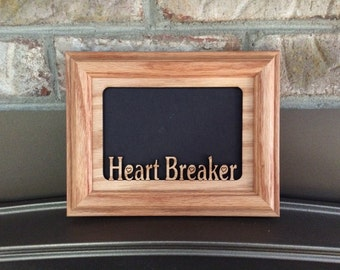 Heart Breaker Picture Frame 5x7