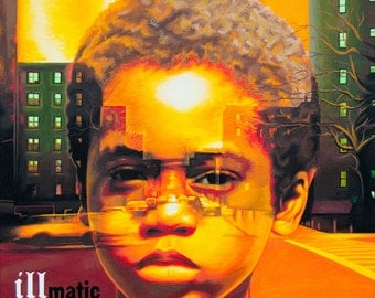 illmAtic - art prints of an original eightangrybears painting (Nas/illmatic)