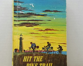 Hit the Bike Trail, 1974, Alice Sankey, vintage kids book