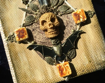 Gothic Bat Journal .