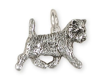 Westie West Highland White Terrier Charm Dog Jewelry  WCN1-C