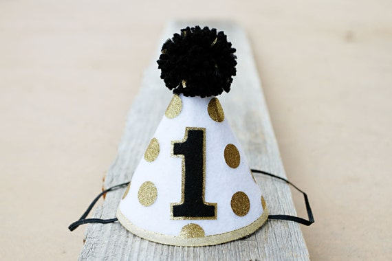 Black And White Polka Dot Birthday Cake