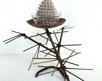 Pinecone Candelabra