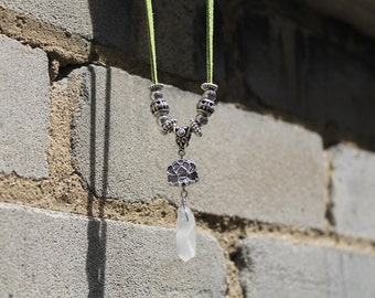 Lily Crystal Necklace
