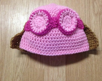 Skye Paw Patrol Crochet Hat