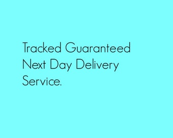 Tracked Guaranteed Next Day Delivery Service - UK ONLY