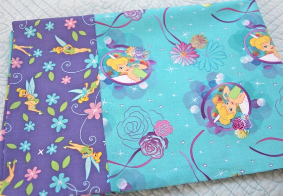 Tinkerbell Teal Pillowcase