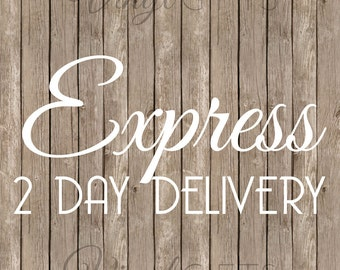 2 DAY EXPRESS GUARANTEE