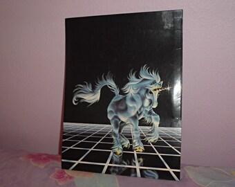 Fantasy Unicorn Mead Folder 1985