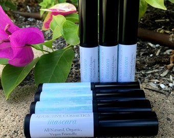 MASCARA-Pro Vitamin Mascara- Vegan Friendly- All natural, Organic Ingredients