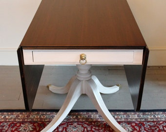 Vintage 1940's Drop Leaf Table