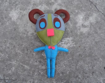 SALE -20% Handmade bear toy. Exclusive/ Toy interior