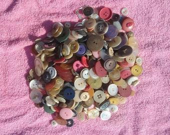 Colorful Vintage Buttons