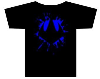 TMNT Shredder Oroku Saki Logo Splat T-shirt