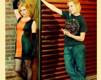 Deadpool-inspired Secret Identity Closet Cosplay Knit Dress