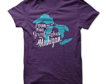 Great Lakes Prefer Michigan
