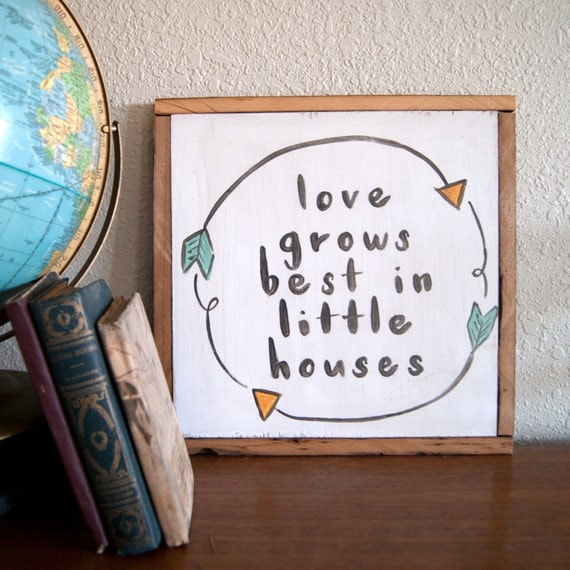 love grows best in little houses song lyrics small house family