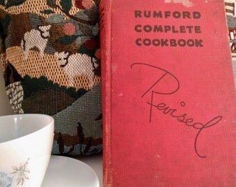 Revised Rumford Complete Cookbook 1939 (Wallace) 10th Edition
