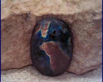 Labradorite Spectrolite Freeform Cabochon Gem Stone V29