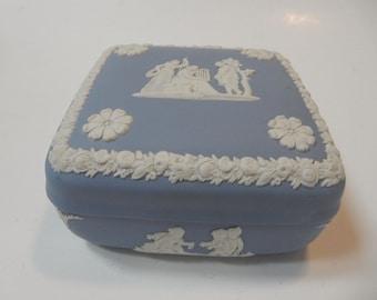 Wedgewood Blue Trinket Box